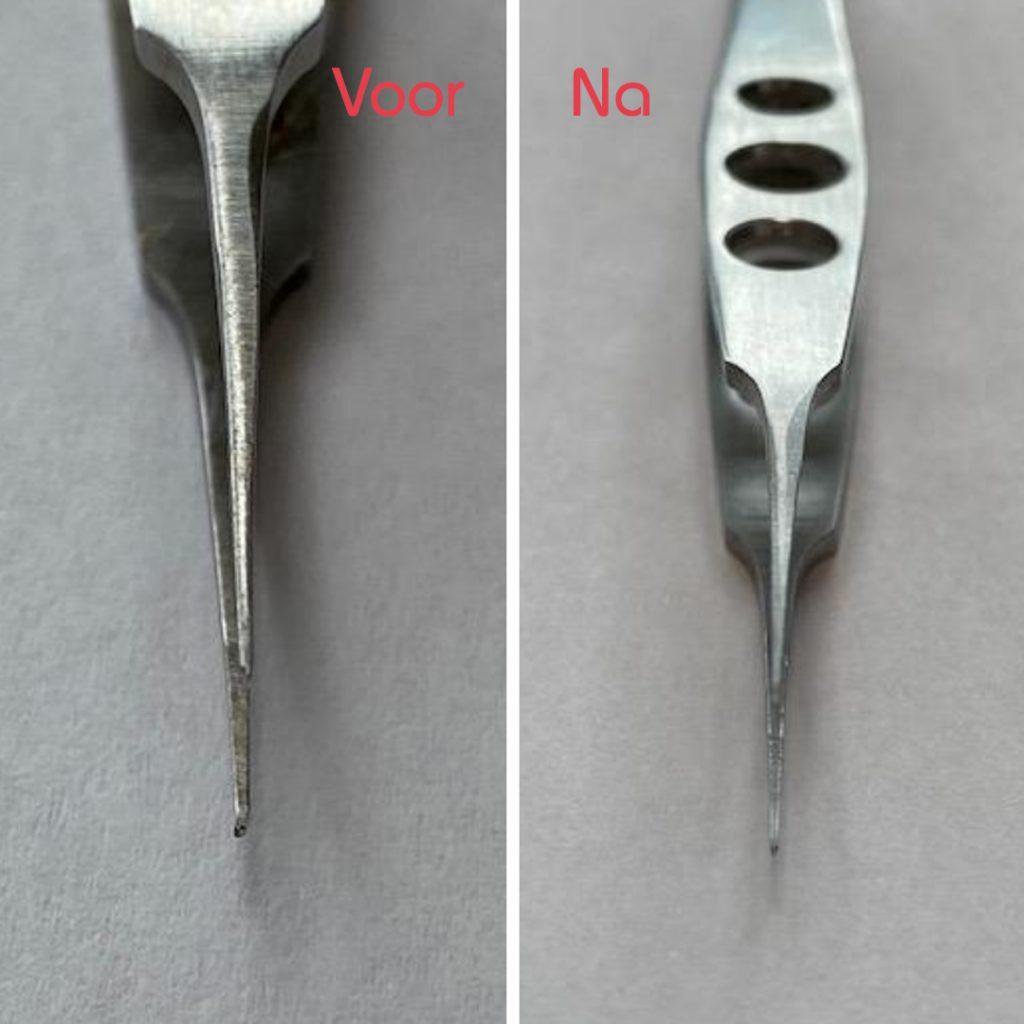 Reparatie oogpincet